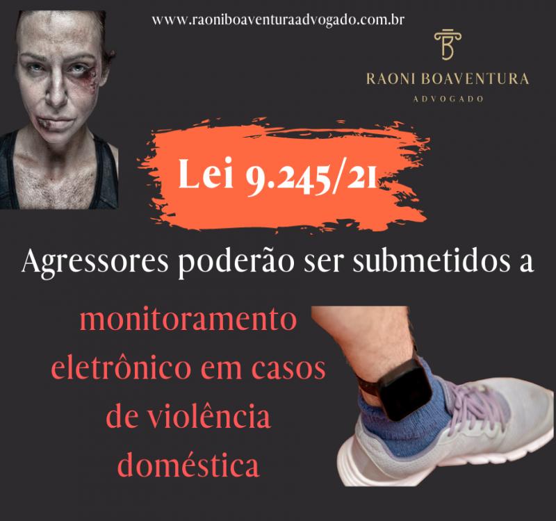 Agressores poderão ser submetidos a monitoramento eletrônico em casos de violência doméstica
