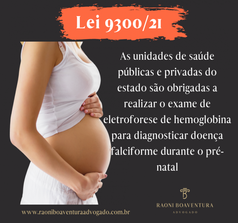 Unidades de saúde serão obrigadas a realizar exame de doença falciforme em recém-nascidos